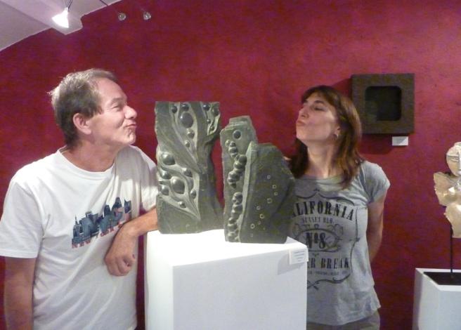Seulement âgée de 35 ans, Elsa sculptrice à Bargème, fête déjà ses 20 ans de carrière