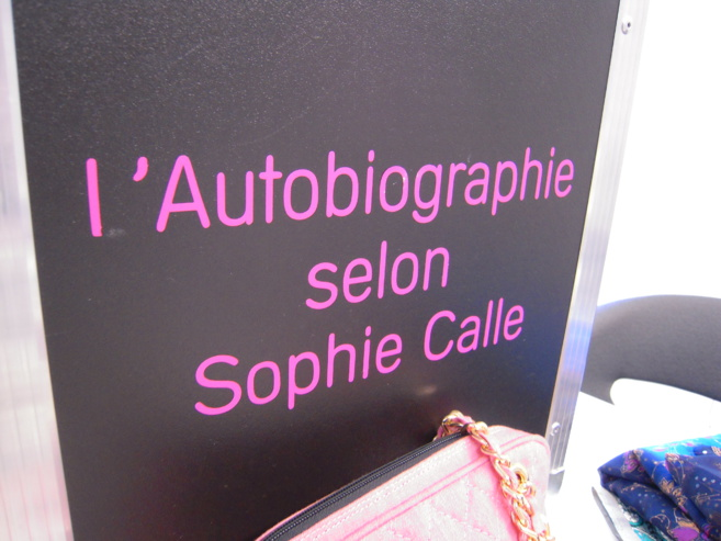 Atelier artistique Sophie CALLE au FRAC PACA