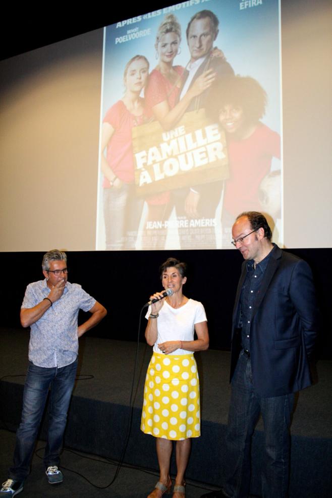Le réalisateur Jean-Pierre Améris était à Château-Arnoux afin de présenter son dernier film !