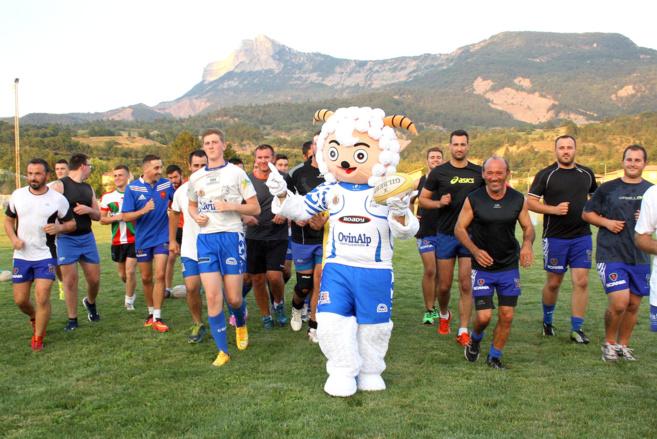 Les rugbymen sisteronais ont repris le chemin du stade !
