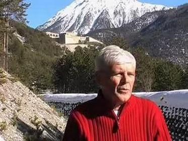 Raymond Cirio, président du Centre Briançonnais de Géologie Alpine