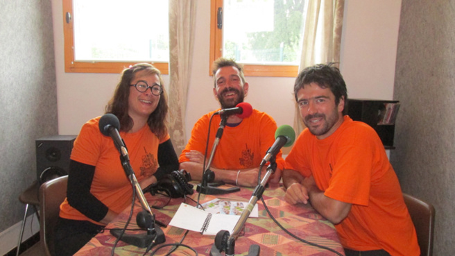 Inès Savi - Mathias Mertens et Gregory Guichard