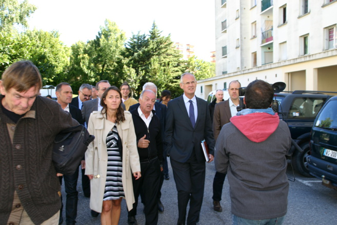 Le préfet de région a évoqué la politique de la ville à Gap