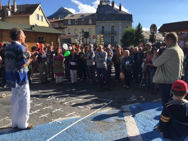 Pas en Notre Nom Briançon, une mobilisation citoyenne pour les réfugiés