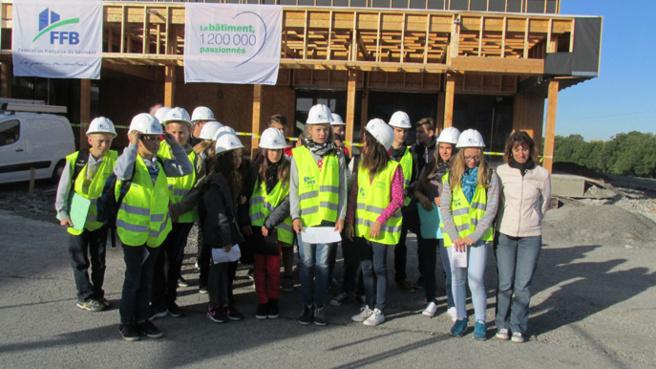 Journée porte-ouverte sur les coulisses du bâtiment à Carmejane