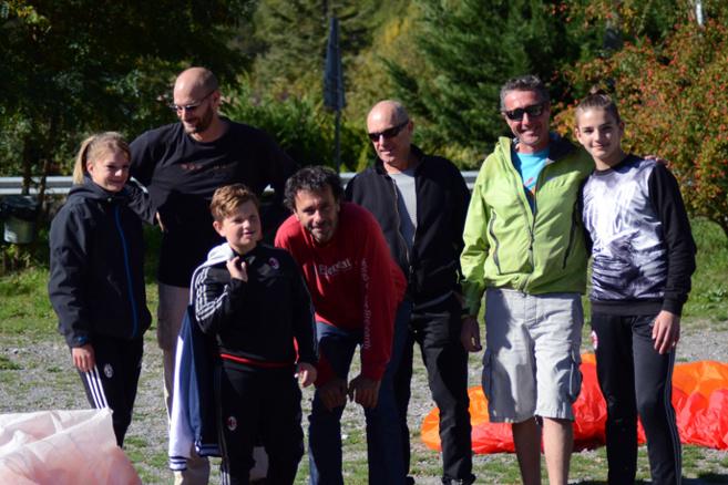 Un baptême de l'air pour 9 enfants du Secours populaire