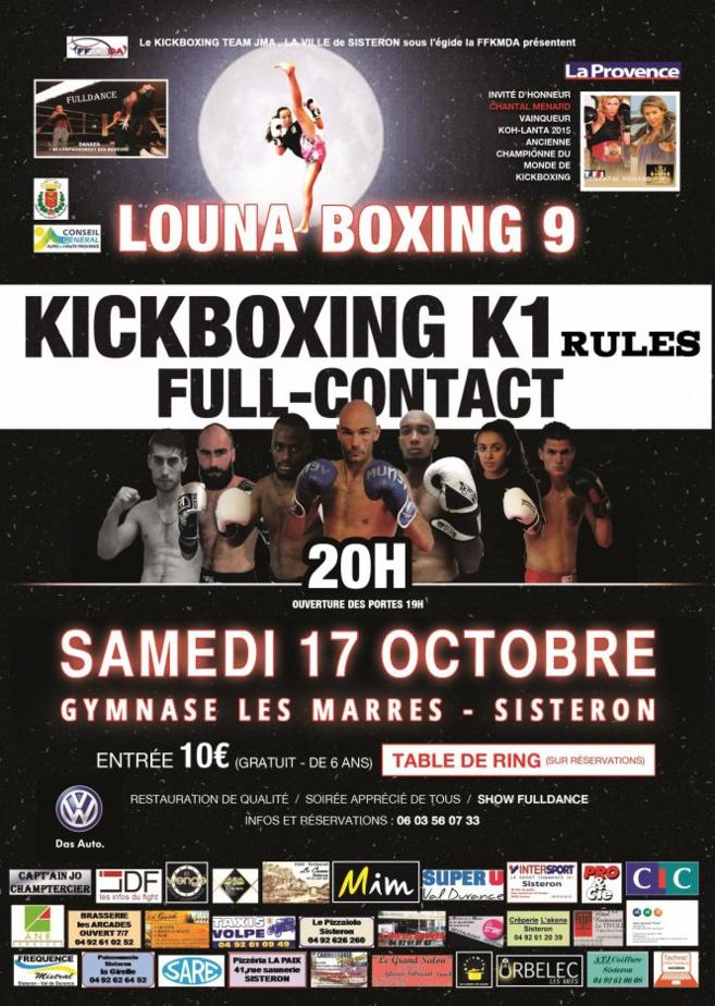 Le Louna Boxing 9 s'annonce plus grandiose que jamais !