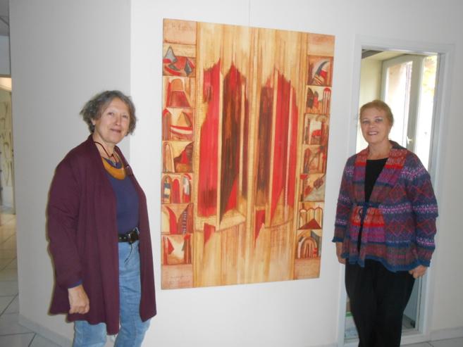 Nouvelle exposition à l'Artothèque de Volx et dans nos locaux