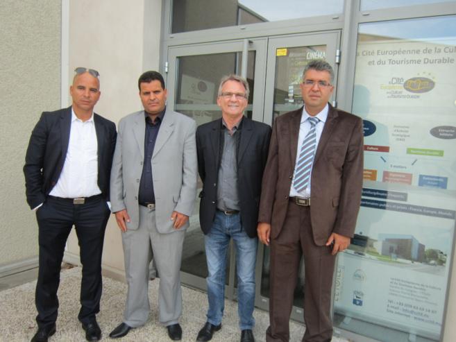Des cadres tunisiens accueillis à Gréoux