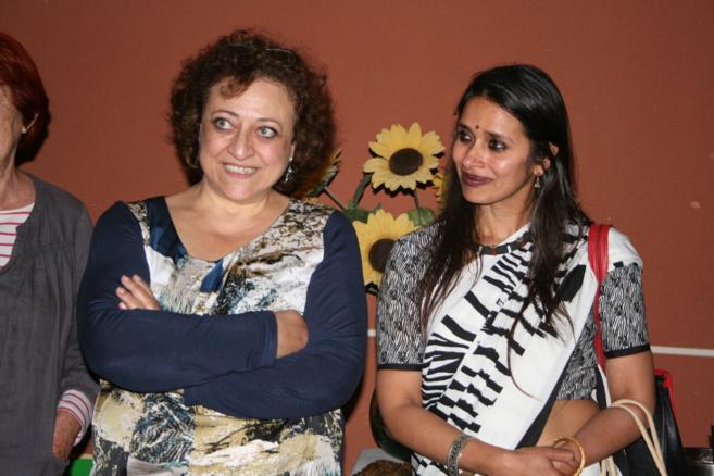 Muriel Scibilia et Rama Mani@C.G
