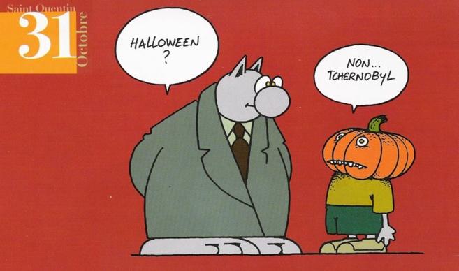 Halloween : au orange* du capitalisme préférez les oronges ou Les yeux noirs des Solistes