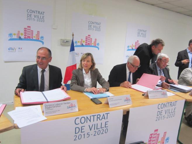 Manosque a signé son contrat de ville