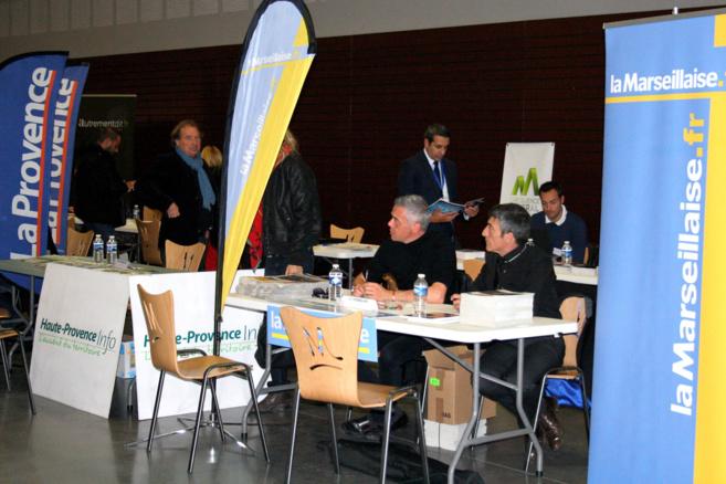 La création et la transmission d'entreprise ont eu leur forum à Manosque