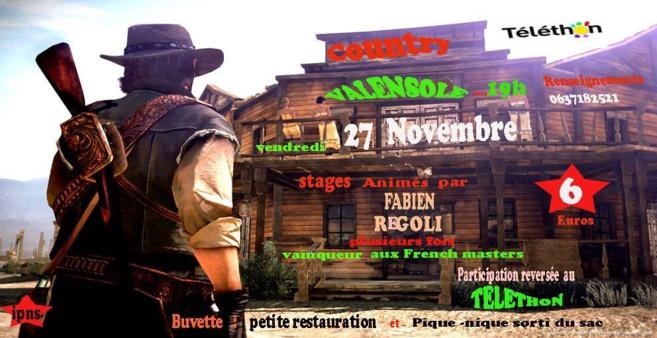 Cow-girls and cow-boys venez danser la country ce soir à Valensole