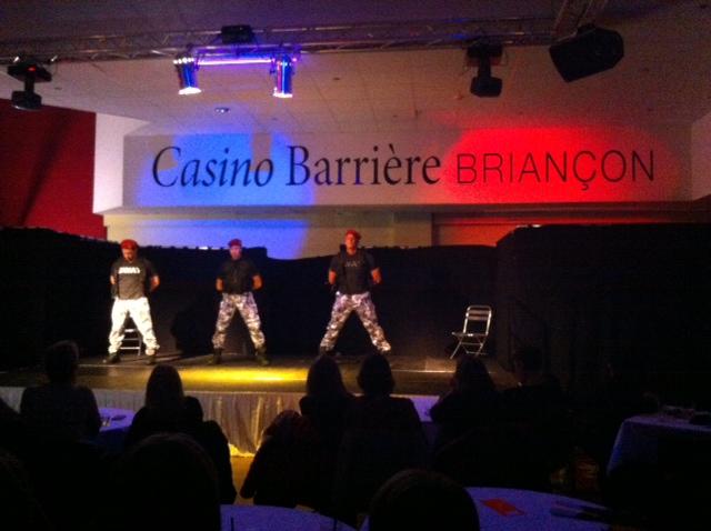 Il a fait trés chaud au casino Barrière de Briançon, avec un show des Chippendales !