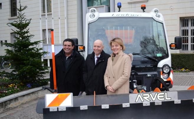 Digne s'équipe d'un camion de déneigement polyvalent à l'approche des fêtes