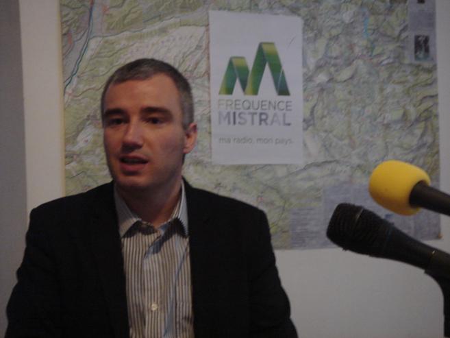 Christophe Duverne, le nouveau sous-préfet de Castellane rend visite à notre équipe locale