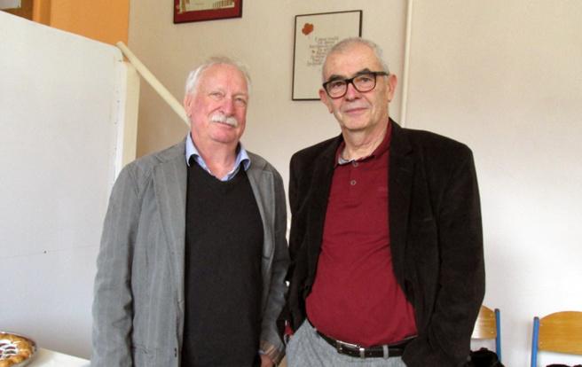 Michel Leroux et Yves Alpes