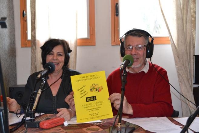 Martine Mir et Régis Coulange
