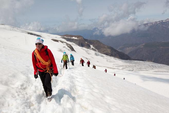 Stage d'Alpinisme avec 82-4000 Solidaires