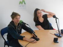 Gaïa et Gaspard ont passé une semaine au sein de notre radio…