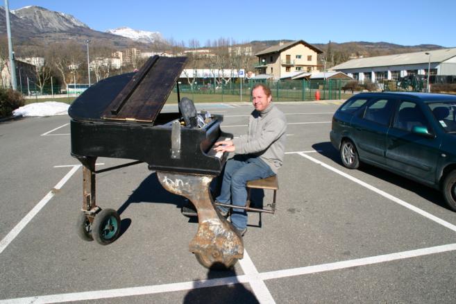 Le Léonard de Vinci du Piano fou existe. Il est haut-alpin…