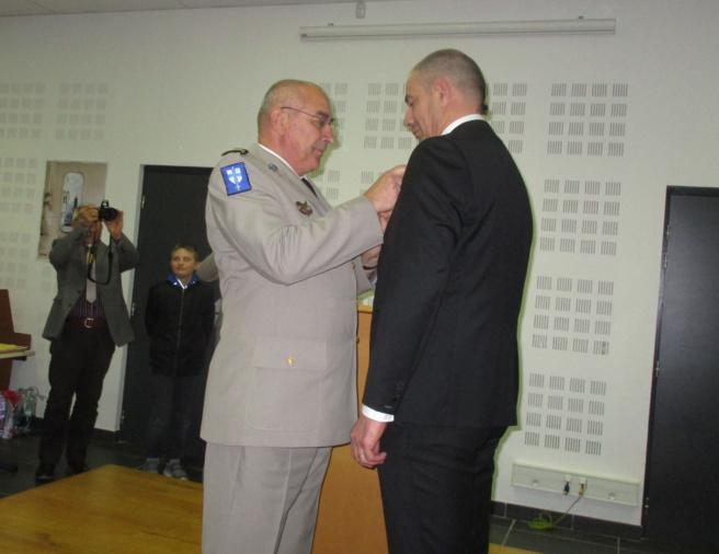 Jean-Charles Borghini nommé Lieutenant-Colonel dans la réserve citoyenne