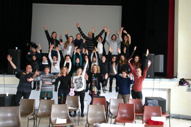 Melline a animé un atelier chant réussi à Savines