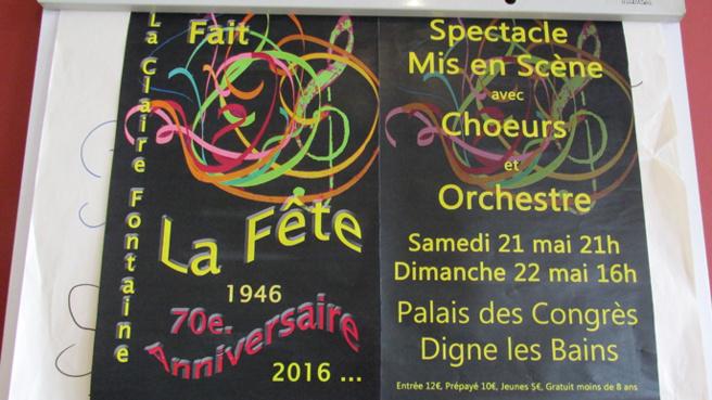 """La comédie musicale """"La Fête"""" se prépare au Lycée Beau de Rochas"""