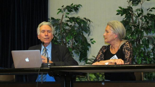 Henri Pena Ruiz et Jacqueline Hennegrave