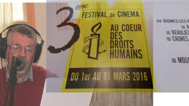 Du cinéma pour promouvoir les droits de l'homme