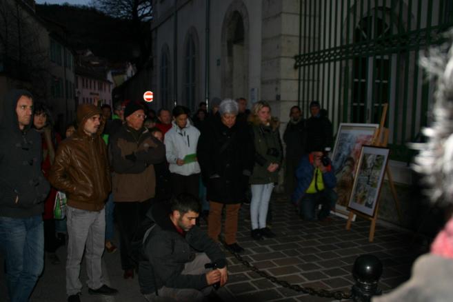 Mobilisation à Gap pour éviter l'expulsion d'Elizardo Plumer