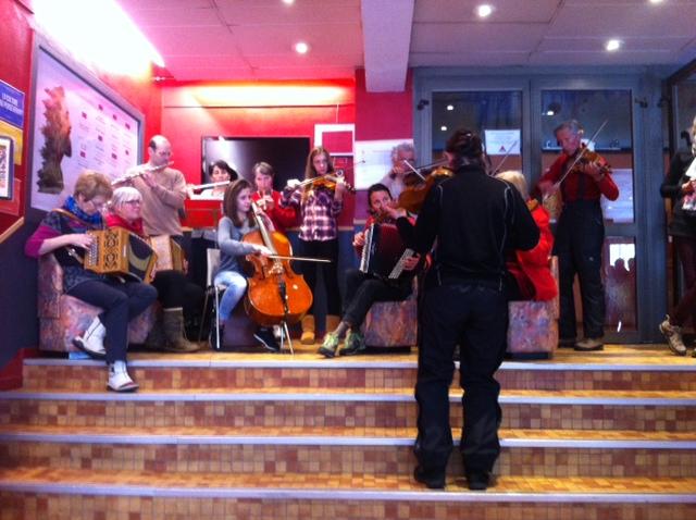 Welcome! Acceuil en fanfare - Conservatoire de Briançon