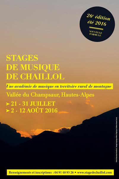 Les 20 ans du Festival de Chaillol