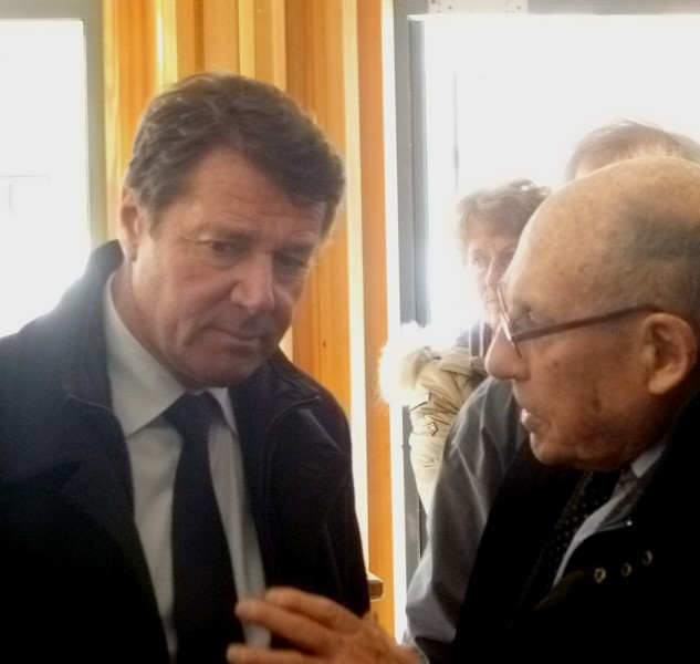 Christian Estrosi et Robert De Caumont