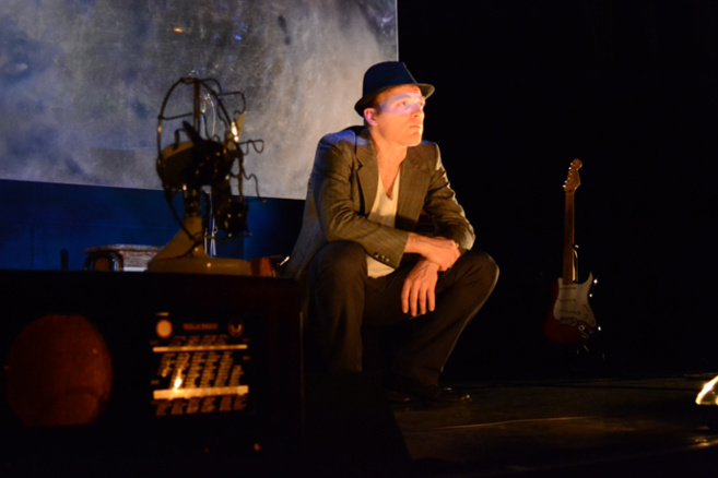 Thomas Milanese a raconté et chanté Dada Blues à Digne