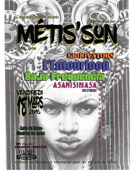 Metis'son 7ème édition, ce vendredi au Dôme à Monêtier!!