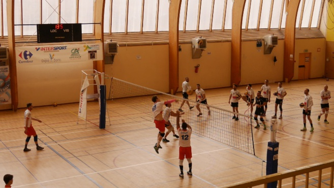 Volley-ball : l'EPDM s'incline face à Orange