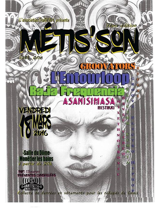 Affiche Metis'son - TRAFIK ART