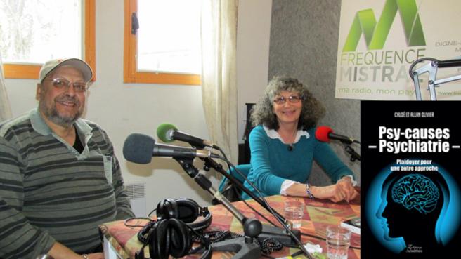 Allan et Chloé Olivier - auteurs de Psy-causes-Psychiatrie
