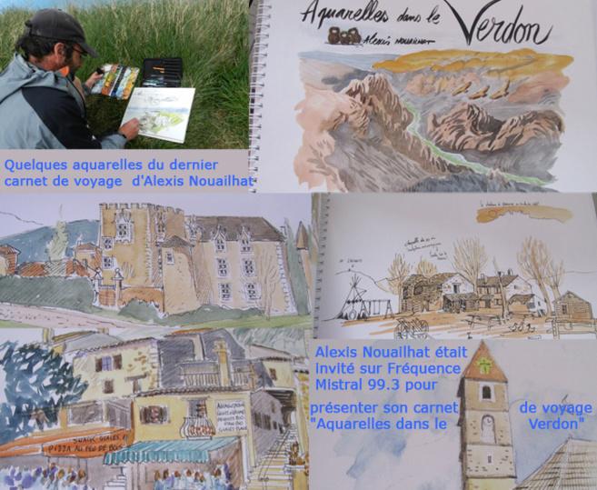 Alexis Nouailhat - Illustrateur, aquarelliste et naturaliste