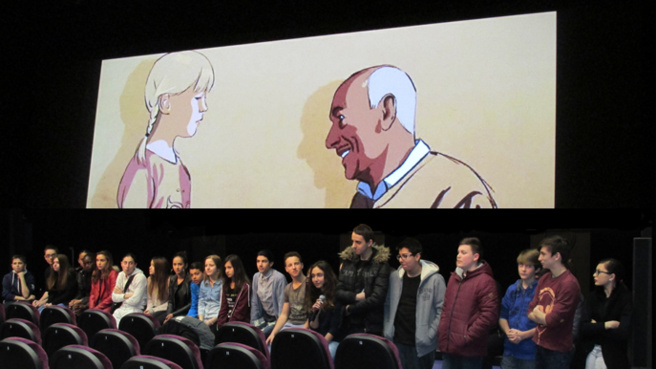 Des collégiens dignois ont participé à la programmation de la Rencontre Cinématographique
