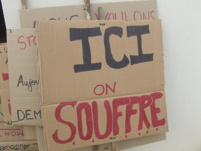 Un mouvement de grève inattendu à Porte Accueil.