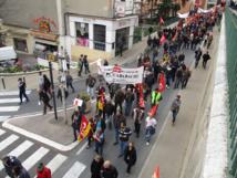 Mobilisation importante contre la loi El Khomri à Manosque