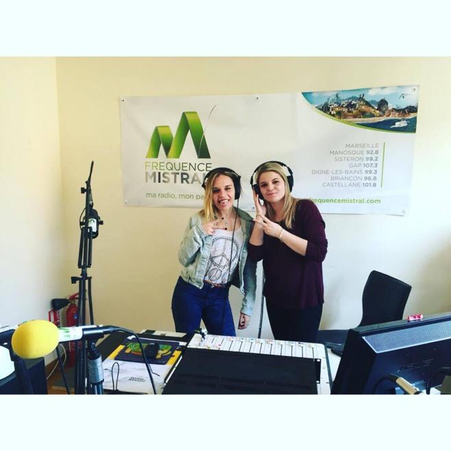 Marion et Kendra ont achevé leur stage sur notre antenne de Gap !