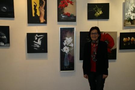 L'exposition de Nicole Arnaud à Gap a été une réussite