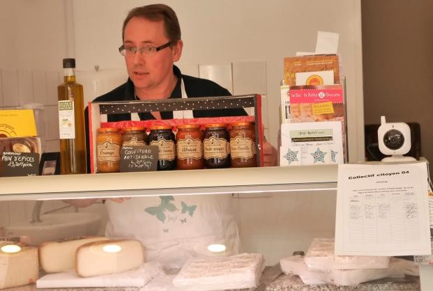 Bruno Lucas est fromager à Digne-les Bains