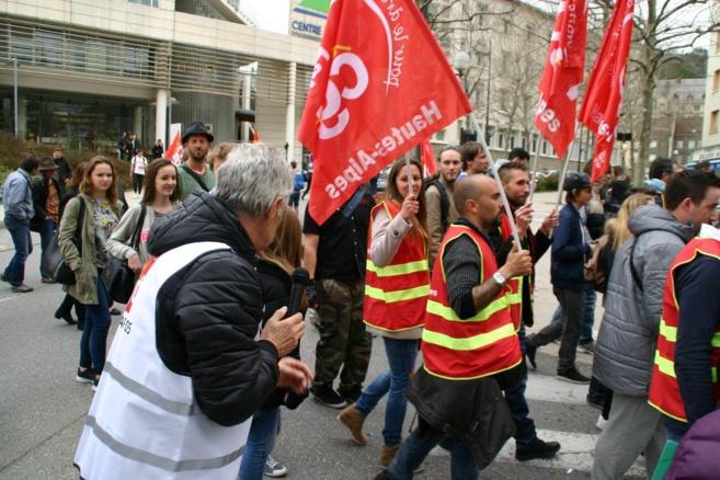 Christian Schuller conduit les actions de la CGT dans les Hautes-Alpes