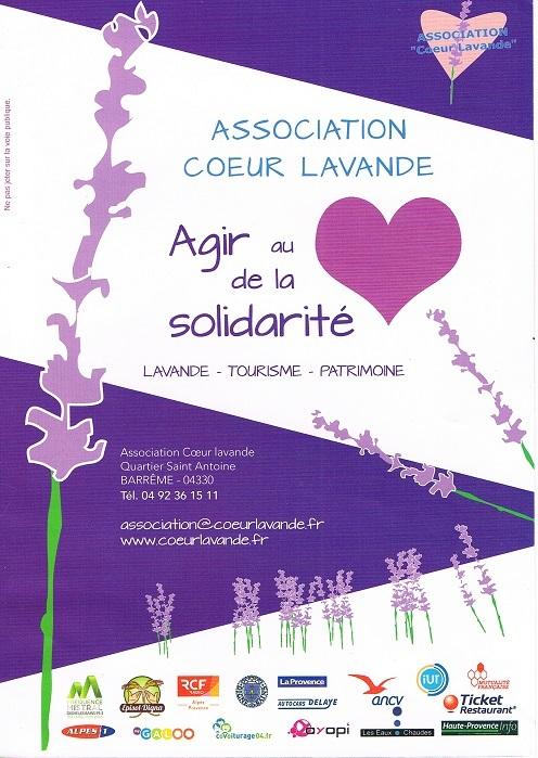 Les soroptimists dignoises soutiennent l'association Cœur Lavande