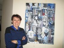 Martine Letoublon expose ses toiles dans nos studios